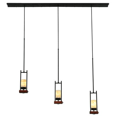 Grand Terrace 3-Light Kitchen Island Pendant