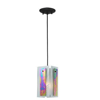 Metro Aurora Borealis Quadrato 1-Light Mini Pendant