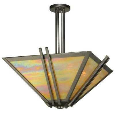 Pueblo Skies 4-Light Semi Flush Mount