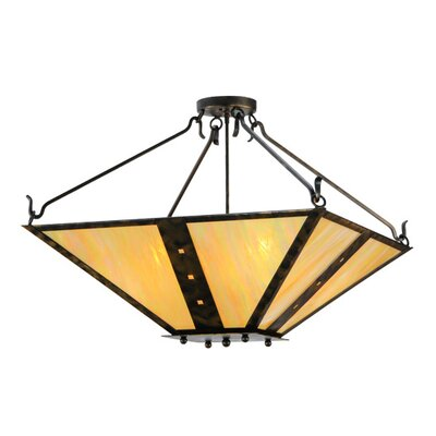 Zandra 4-Light Semi Flush Mount