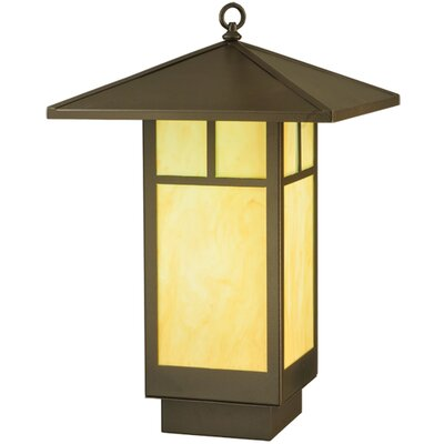 Seneca T Mission LED Bulb Integrated Lantern Pendant
