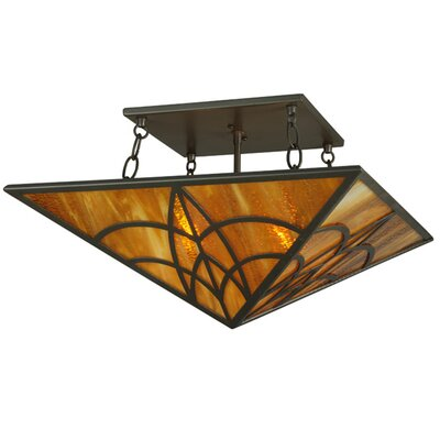 Scottsdale Mission 2-Light Semi Flush Mount