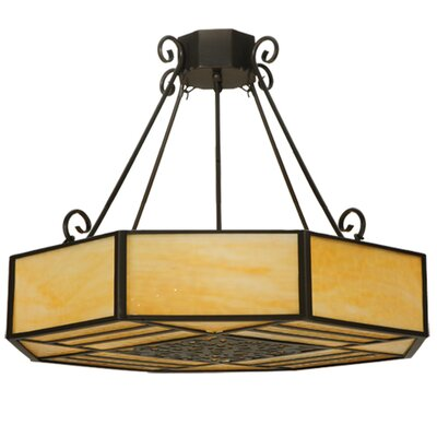 Lakeside 4-Light Semi Flush Mount Size: 25 H x 32.25 W x 32.25 D