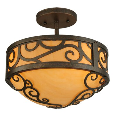 Lilliana 3-Light Semi-Flush Mount