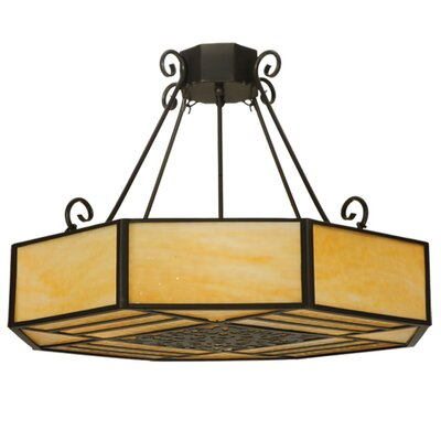 Lakeside 4-Light Semi Flush Mount Size: 22 H x 32.25 W x 32.25 D