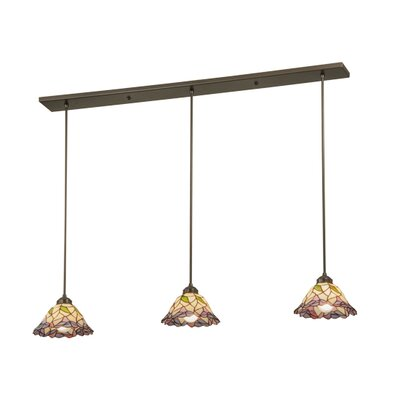 Daffodil Bell 3-Light Kitchen Island Pendant