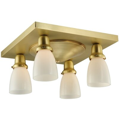 Alcove 4-Light Flush Mount