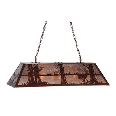 Deer Hunter 9-Light Pool Table Light