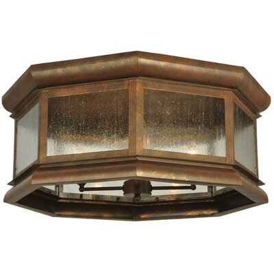 Manchester Octagon 4-Light Flush Mount