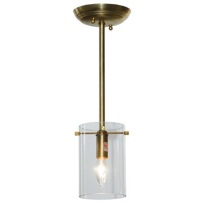 Bakersfield 1-Light Semi Flush Mount