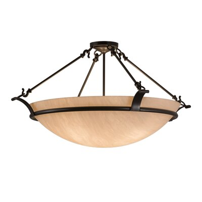 Almeria 4-Light Semi Flush Mount