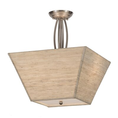 Cesta 2-Light Semi Flush Mount