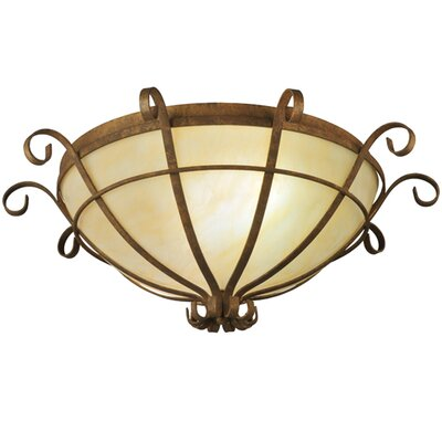 Florentine 2-Light Flush Mount