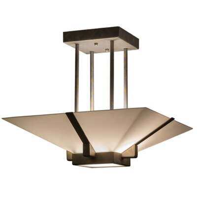 Grayling 2-Light Semi Flush Mount