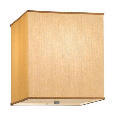 Quadrato Honey Bombay Dimmable 2-Light Flush Mount