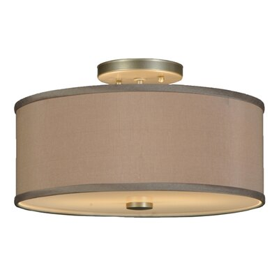 Cilindro 2-Light Semi-Flush Mount