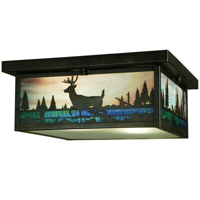 Deer Creek 2-Light Flush Mount