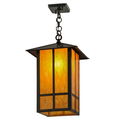 Seneca Window Pane 1-Light Mini Pendant