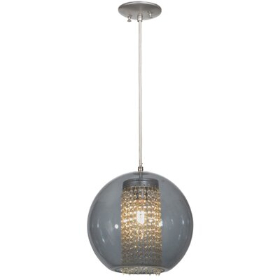 Bola Crystal 1-Light Globe Pendant