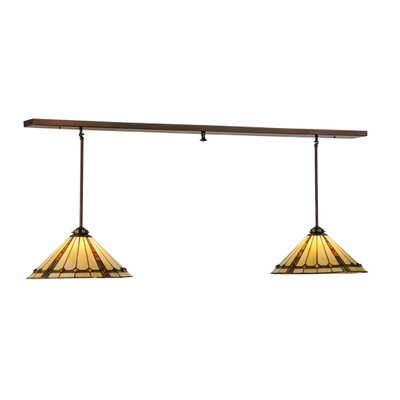 Belvidere Custom 2-Light Kitchen Island Pendant