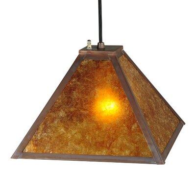 Mission Prime 1-Light Pendant Size: 12 - 120 H x 12 W x 12 D