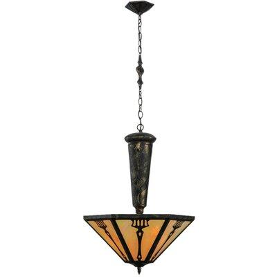 Grenway Iridescent 3-Light Inverted Pendant
