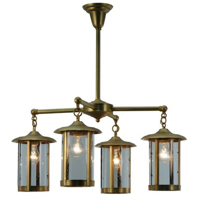 Craftsman Signature Fulton Prime 4-Light Shaded Chandelier