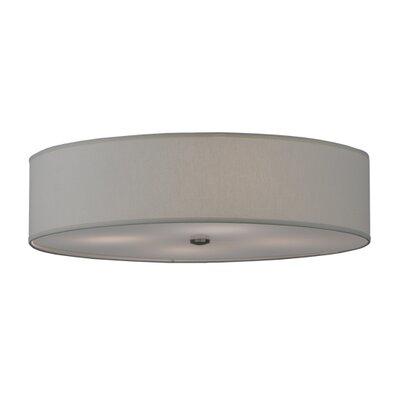 Cilindro Textrene 4-Light Flush Mount