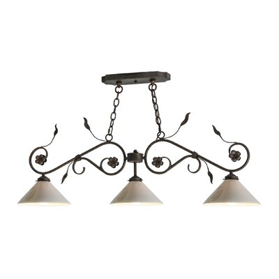 Bordeaux 3-Light Kitchen Island Pendant