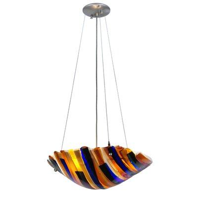 Metro Fusion Oceano 3-Light Inverted Pendant