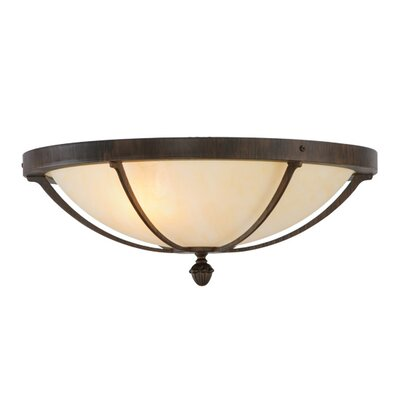 Dominga 2-Light Flush Mount
