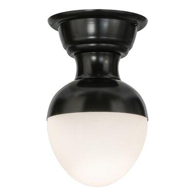 Huevo 1-Light Semi-Flush Mount