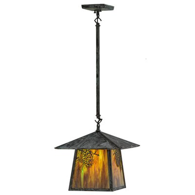 Stillwater Winter Pine 1-Light Mini Pendant