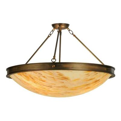 Dionne 3-Light Semi-Flush Mount