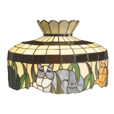 Four Cat 19.5 Novelty Lamp Shade
