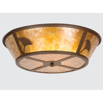 Ginkgo 4-Light Flush Mount