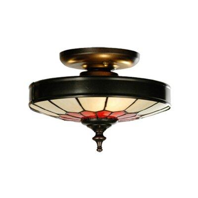 Vincent Honeycomb 3-Light Flush Mount Size: 5 H x 8 W x 8 D