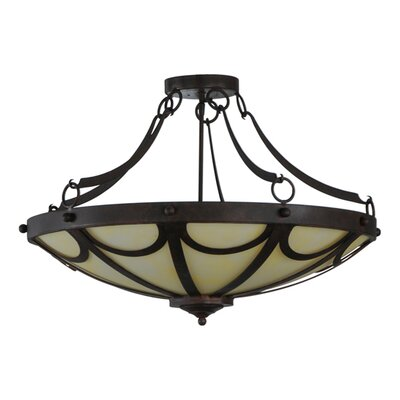 Carousel 5-Light Semi Flush Mount