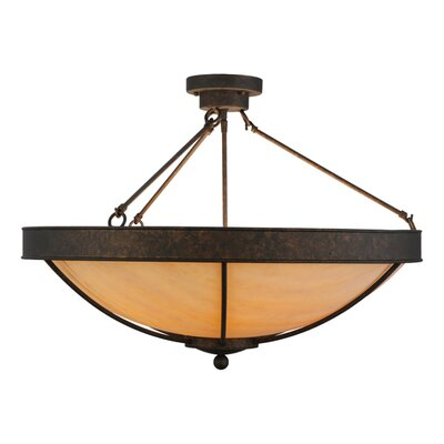 Alysiales 5-Light Semi Flush Mount
