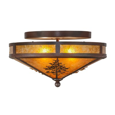 Tamarack 2-Light Semi Flush Mount