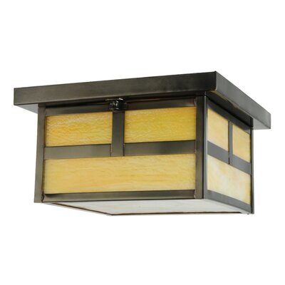 T Mission Hyde Park 2-Light Flush Mount