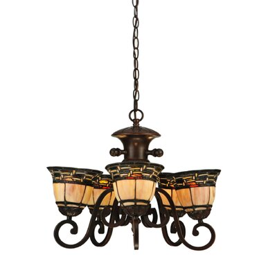 Ilona 5-Light Shaded Chandelier