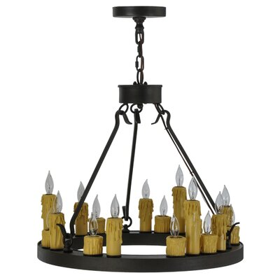 Deina 18-Light Candle-Style Chandelier
