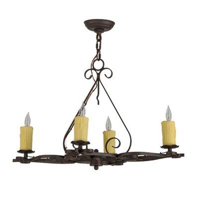Elianna 4-Light Candle-Style Chandelier