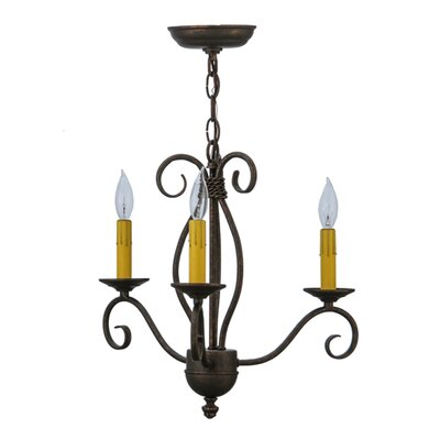 Sienna 3-Light Candle-Style Chandelier