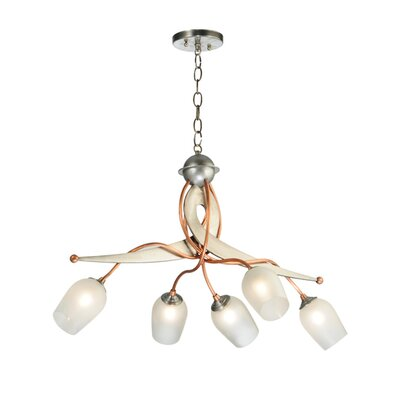 Ballerina 5-Light Shaded Chandelier