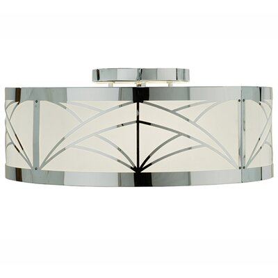 Revival Deco Cilindro 4-Light Flush Mount