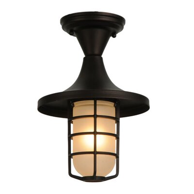 Bellevue 1-Light Flush Mount