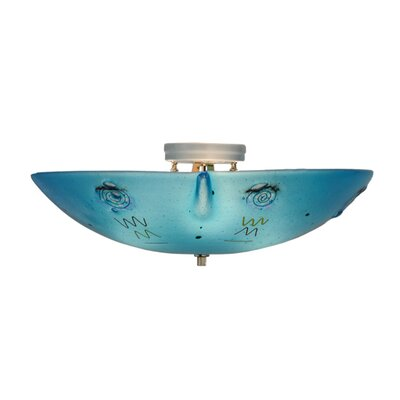 Metro Fusion Electra 3-Light Flush Mount