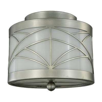Revival Deco Cilindro 2-Light Flush Mount